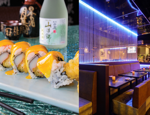 Culinary couture – The Golden Mango roll